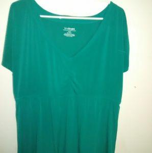 3 for $25 Sale  Lane Bryant high waist top.